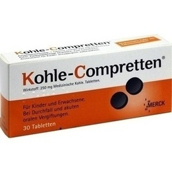 KOHLE Compretten Tabletten